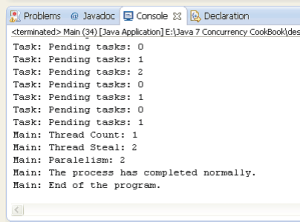 Java Concurrency Cook Book 5.2